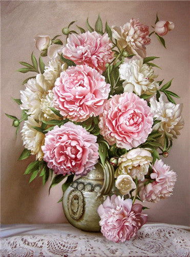 DIY Diamond Painting - Flowers - Amazing Pet