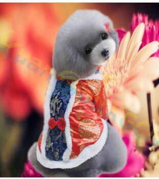 Chinese Style Costume for Cats and Small Dogs
