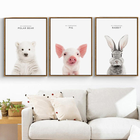 Animal Wall Poster / Painting - Amazing Pet