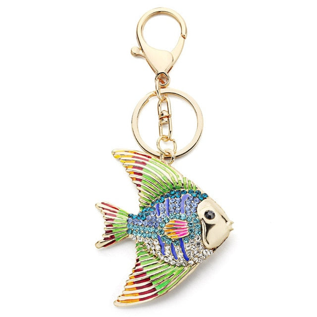 Tropical Fish Key Chain - Amazing Pet