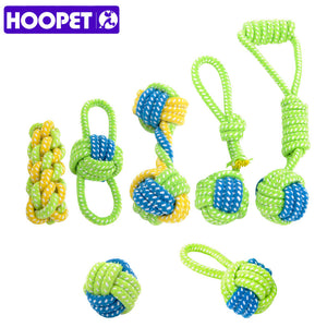 HOOPET Cotton Rope Knot Dog Toy