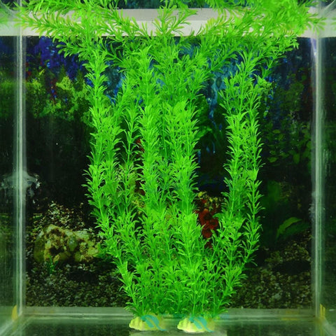 Artificial Plant Grass Fish Tank Decor