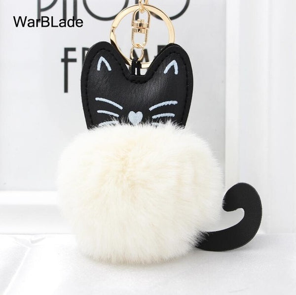 Fluffy Cat Keychain - Amazing Pet