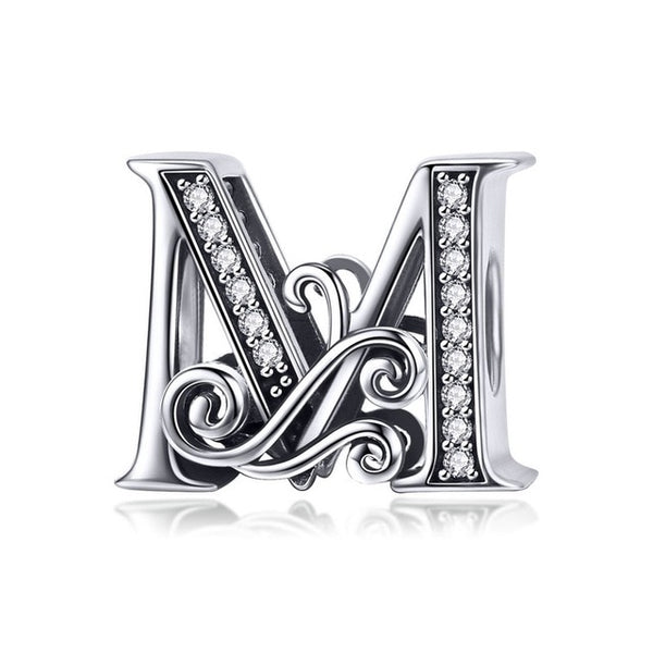 925 Sterling Silver A to Z Charm - Amazing Pet