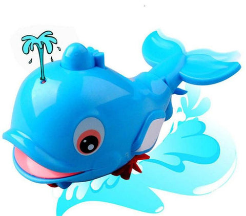 Swimming Whale Baby Toy