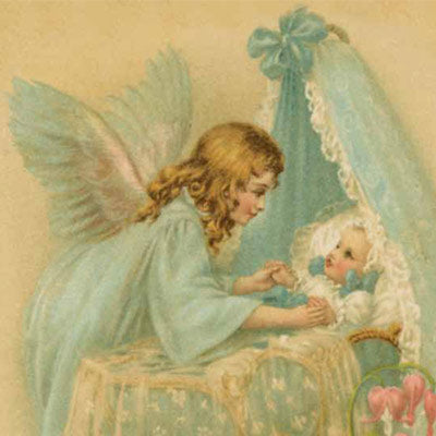 Angel over Bassinet