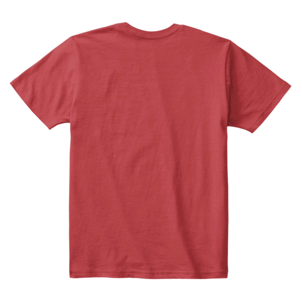 Kids Cotton Tee Classic T-Shirt Classic Red Back