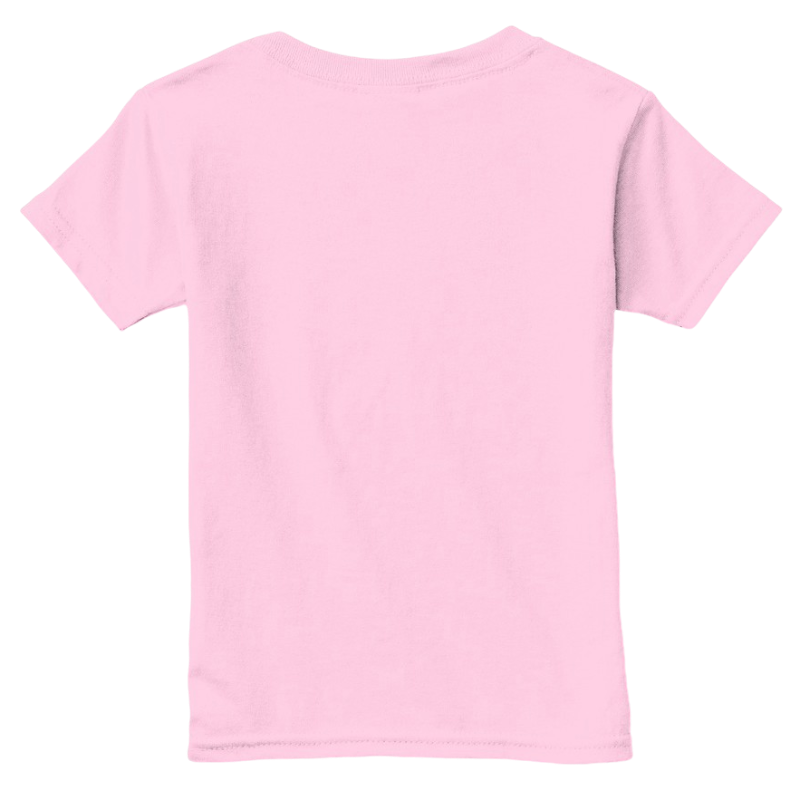 Mythic Art Clothing Toddler Classic Cotton Tee Light Pink Back
