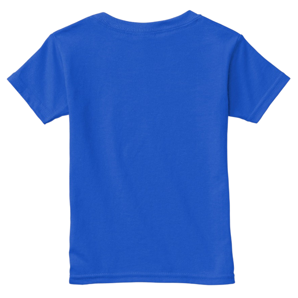 Mythic Art Clothing Toddler Classic Cotton Tee Royal Back