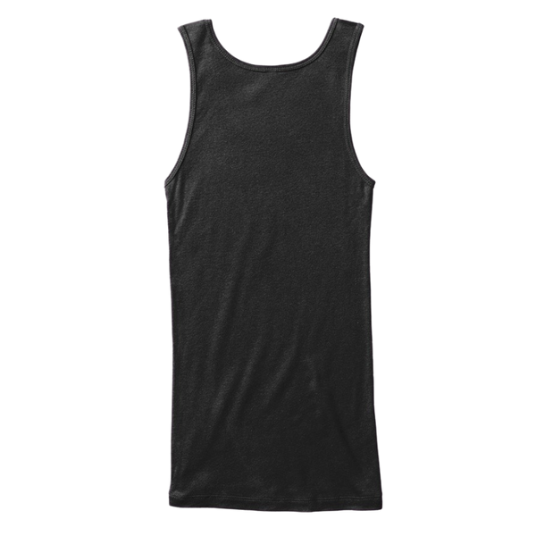 Mythic Art Clothing Womens Cotton Tank Top Black Back