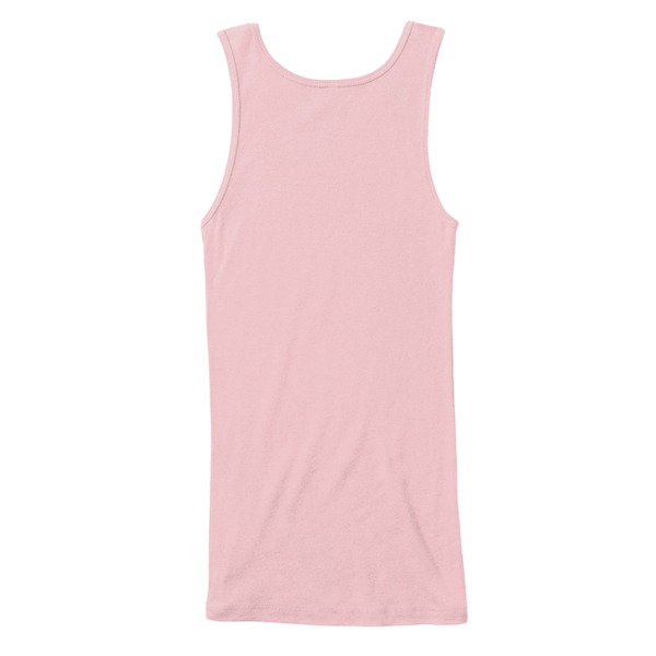 Mythic_Art_Clothing Womens Cotton Tank Top Soft Pink Back