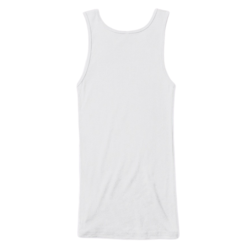Mythic Art Clothing Womens Cotton Tank Top White Back