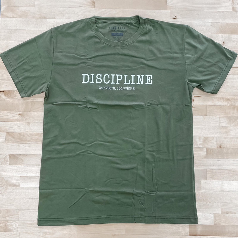 TEAM FLEX DISCIPLINE TEE