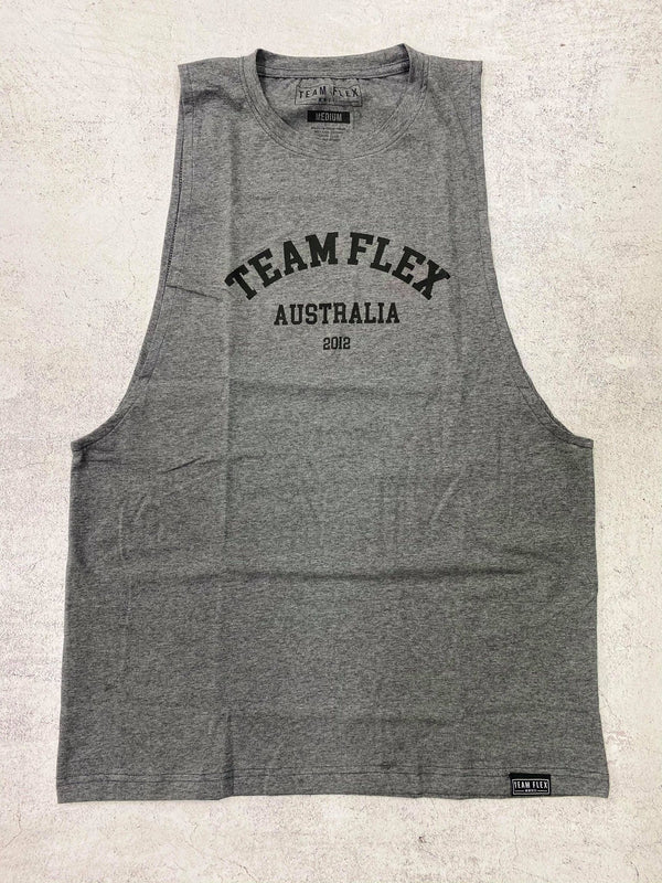 TEAM FLEX COLLEGE MUSCLE TEE