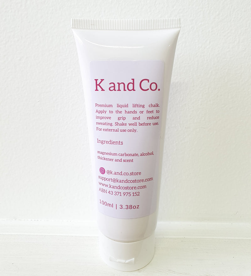K AND CO. LIQUID CHALK