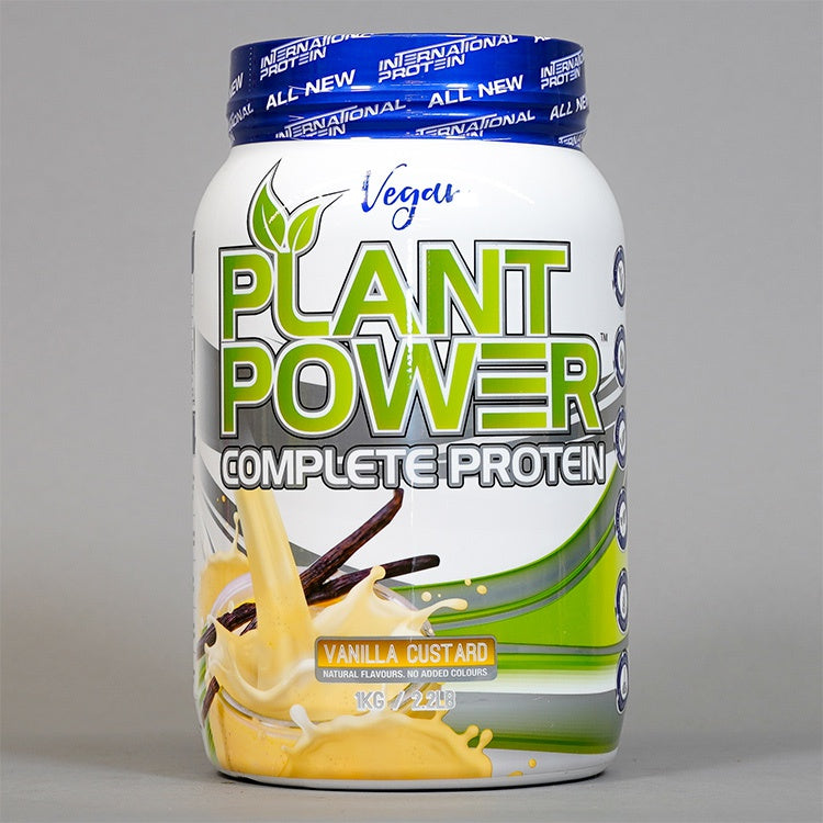 INTERNATIONAL PROTEIN PLANT POWER COMPLETE PROTEIN