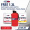 OXYSHRED TWIN PACK + FREE 1.3 LT BOTTLE