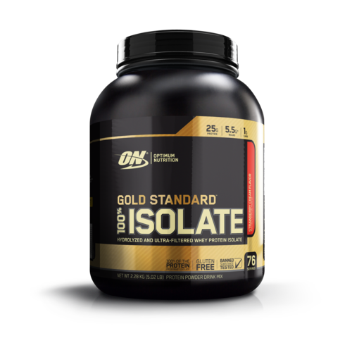 OPTIMUM NUTRITION GOLD STANDARD 100% ISOLATE (DINTED TUB - EXP 11/20)