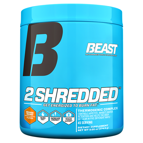 2Shredded by Beast Sports Nutrition - 45 serve