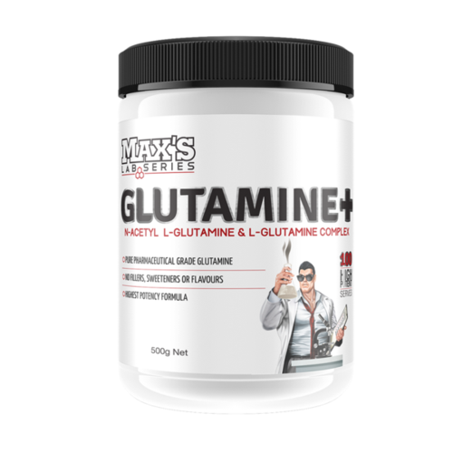 MAXS LAB SERIES GLUTAMINE+ (EXP 09/20)