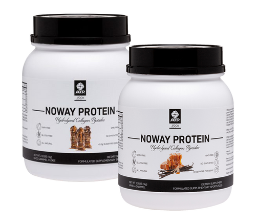 NOWAY 100% HCP PROTEIN - 55 SERVES - TWIN PACK