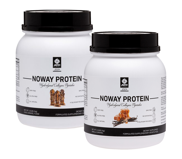 NOWAY 100% Hydrolysed Collagen Protein - 55 serve - TWIN PACK