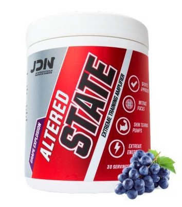 JD NUTRACEUTICALS ALTERED STATE (EXP 01/21)