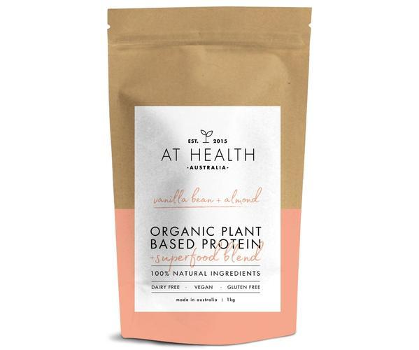 AT HEALTH PLANT BASED PROTEIN POWDER + SUPERFOOD