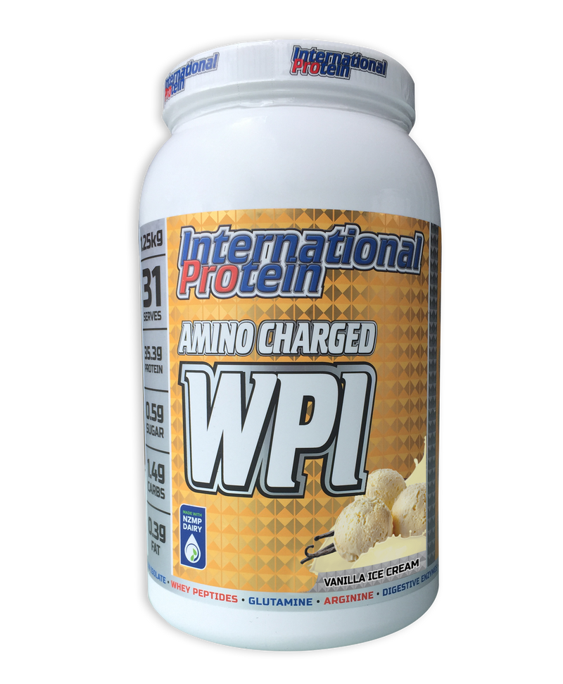 INTERNATIONAL PROTEIN AMINO CHARGED WPI