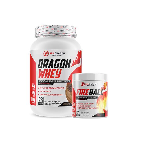 FIREBALL + DRAGON WHEY BUNDLE