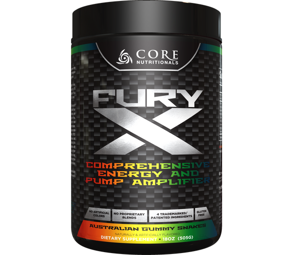 CORE NUTRITIONALS CORE FURY X