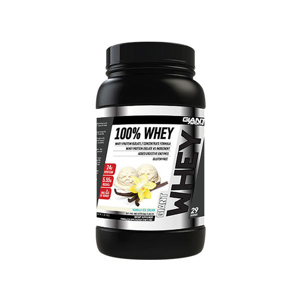 GIANT 100% WHEY PROTEIN POWDER (EXP 10/20)