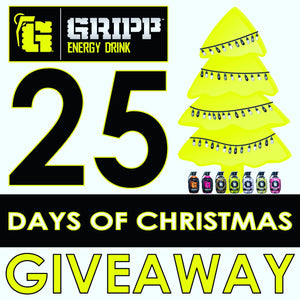 Gripp's 25 Days of Christmas Giveaway