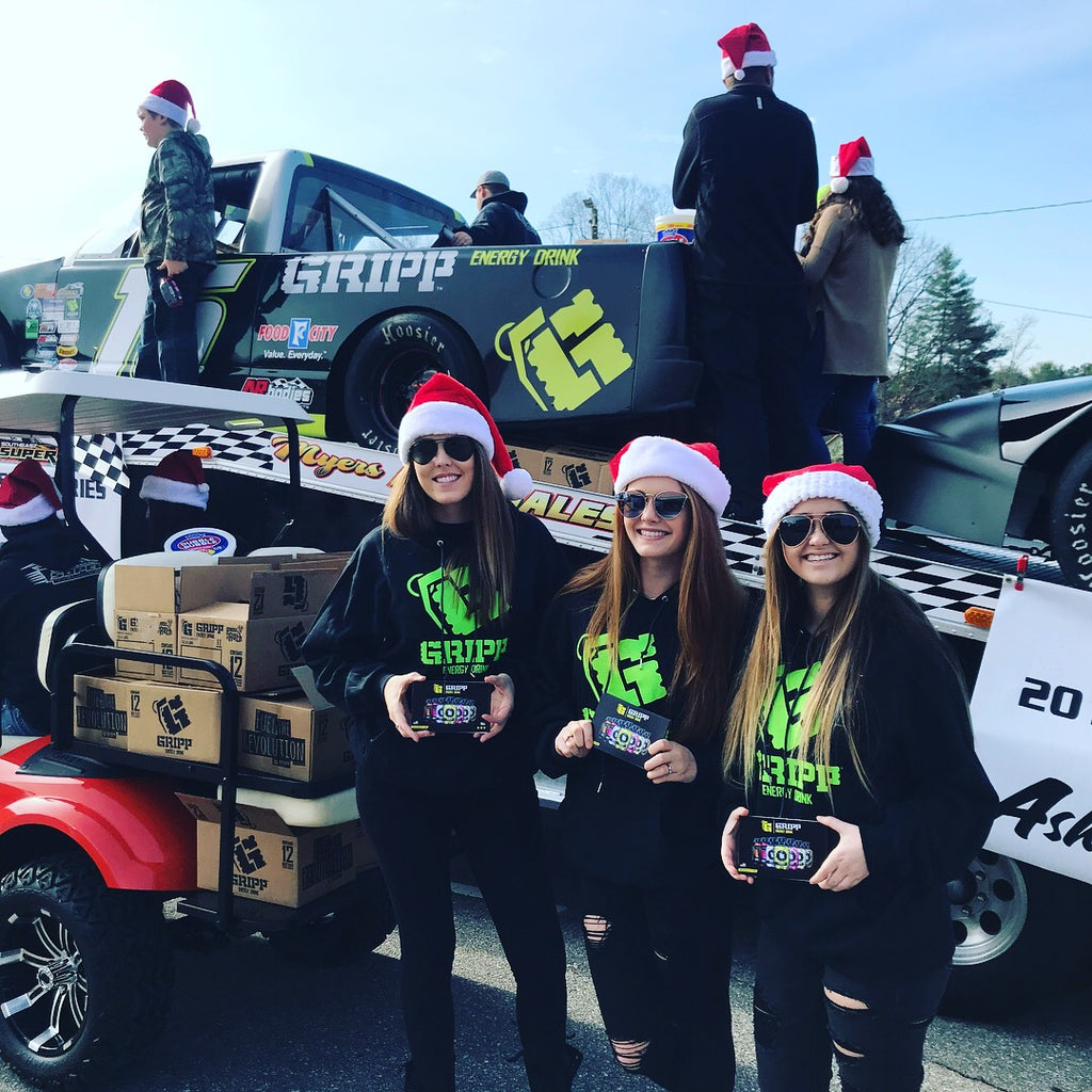Gripp Takes Over Weaverville Christmas Parade