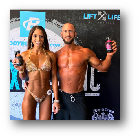 Featured body builders at NPC Knox Classic