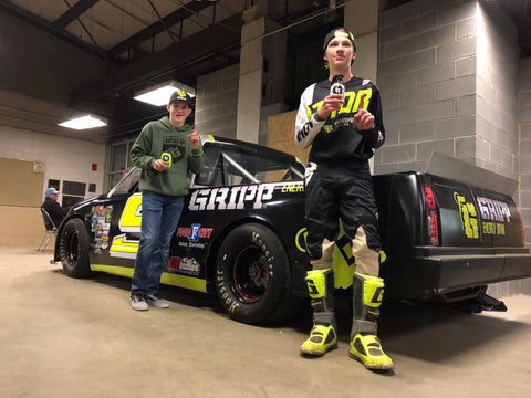 Tyler Mitchell and Ashton Higgins with Gripp Supertruck