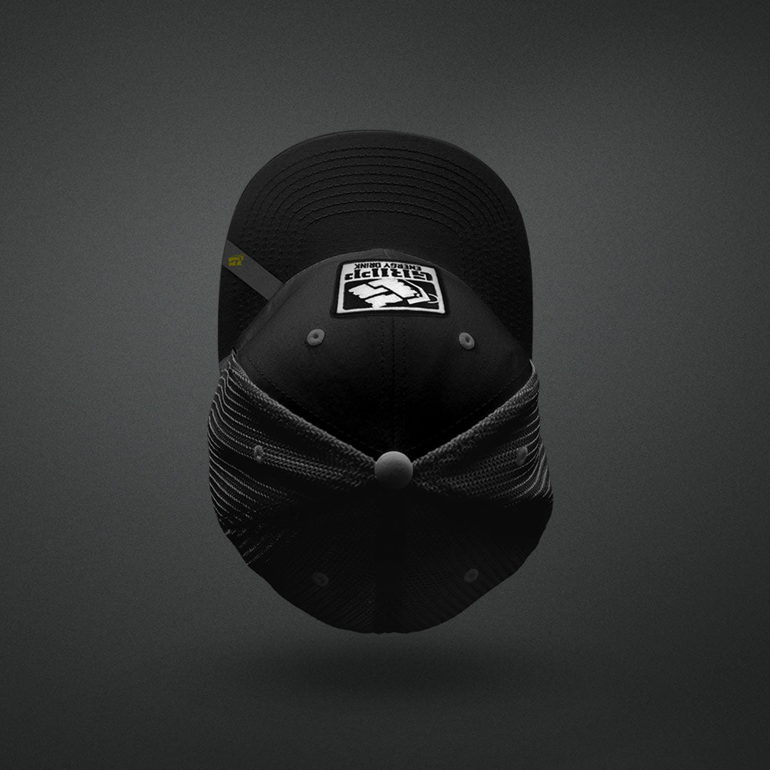 Gripp Trucker Hat - Color: Black/Black