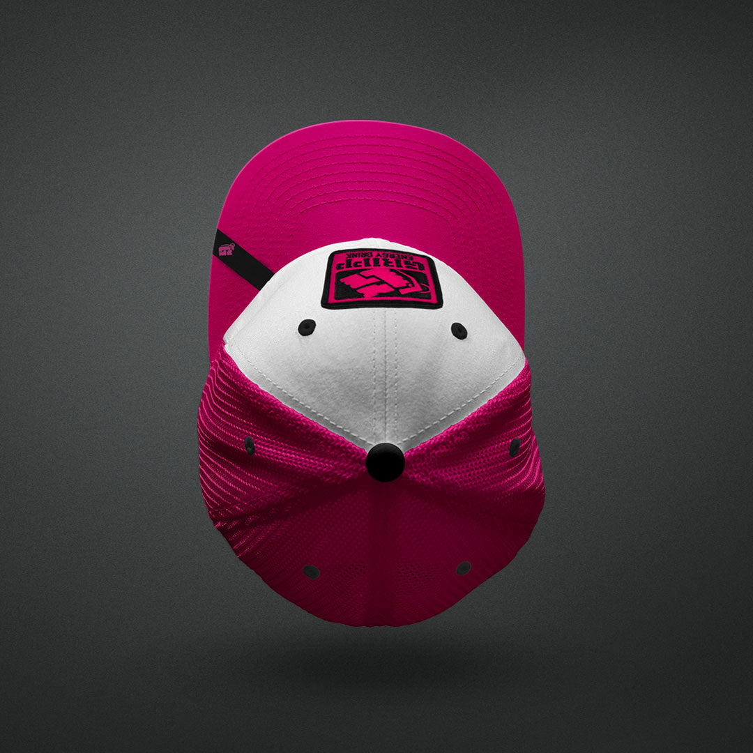 Gripp Trucker Hat - Color: Pink/White