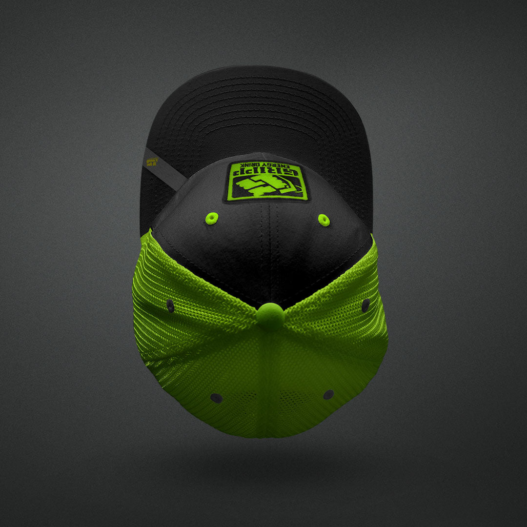 Gripp Trucker Hat - Color: Green/Black