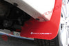 Rally Armor 08-11 2.5i & 08-10 WRX Red Mud flap White logo