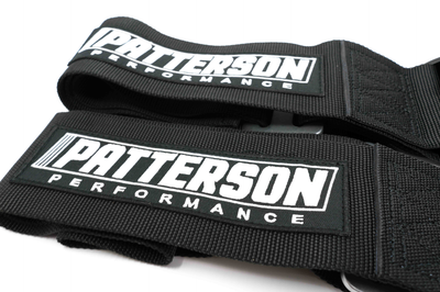 Patterson Performance 5 Point Cam Lock Racing Harness - Black