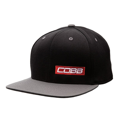 COBB BLACK-GRAY SNAPBACK CAP