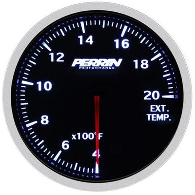 PERRIN 60mm 2000 Deg F EGT Gauge