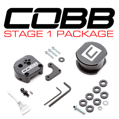 COBB FORD STAGE 1 DRIVETRAIN PACKAGE (EXTERIOR) FOCUS ST 2013-2018, FOCUS RS 2016-2018