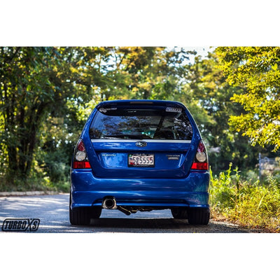 Turbo XS SUBARU FORESTER XT CATBACK EXHAUST 2004-2008