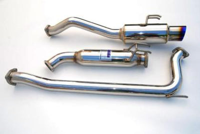Invidia 2006-2011 Honda Civic Si 2dr Coupe ONLY 70mm RACING Titanium Tip Cat-back Exhaust