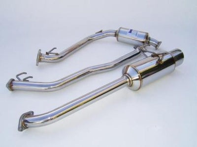 Invidia 2006-2008 Honda Fit 50mm (101mm tip) Cat-back Exhaust