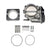 IAG Big Bore 76mm Throttle Body & Adapter for OEM STI / Cosworth Intake Manifolds - Subaru WRX 2006-2007 / STi 2004-2021 / FXT 2004-2008