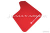 Rally Armor Universal UR RED Mud flap White logo