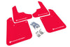 Rally Armor 93-01 Impreza UR RED Rally Mud flap White logo